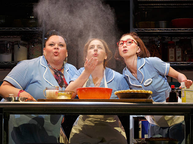 Waitress at Brooks Atkinson Theater