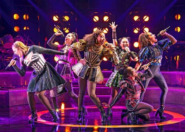 Six - Pop Concert Musical at Brooks Atkinson Theater